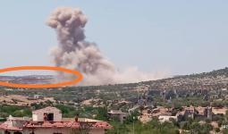 استهدف محيط النقطة التركية في البارة جنوبي إدلب