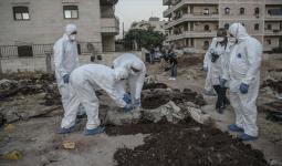 جثث مجهولة الهوية في مقبرة جماعية في عفرين