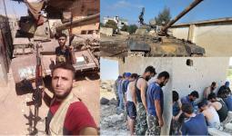 اغتنام دبابة وأسرى للنظام في درعا 29 7 2021