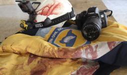 كاميرا المتطوع همام العاصي استشهد أثناء الاستجابة للمجزرة في قرية سرجة جنوبي إدلب 17 7 2021