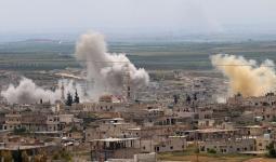 غارات روسية على ريف إدلب
