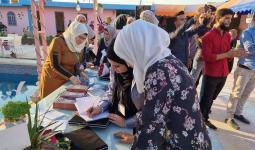 توقيع كتاب أجندات وطن في مدينة أعزاز