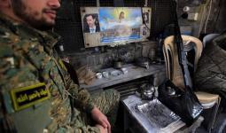 عنصر من ميليشيا حزب الله اللبناني في حلب