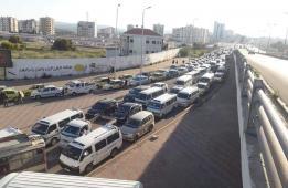 طوابير المحروقات في دمشق