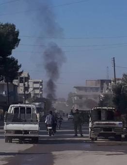 تفجير في مدينة جرابلس - أرشيف