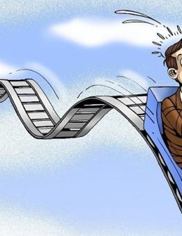 كاريكاتير يصف شعبية الرئيس الفرنسي إيمانويل ماكرون