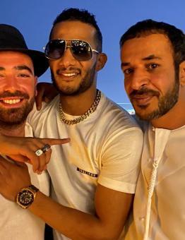 محمد رمضان يلتقي صهاينة في دبي