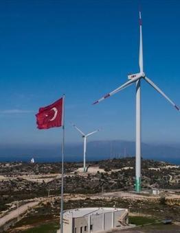 مراوح هواء لانتاج الطاقة في تركيا
