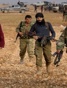 مقاتلون-من-فصائل-الثوار-في-محافظة-إدلب
