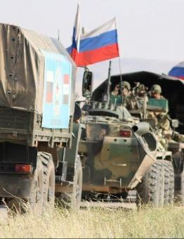 دورية روسية في سوريا
