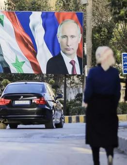 روسيا تدعم نظام الأسد في قمع الثوار منذ سنوات