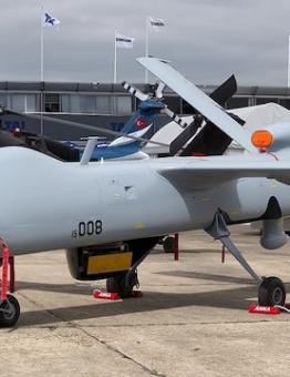 طائرة بدون طيار من الصناعات الدفاعية التركية