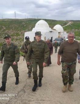 من زيارة الضابط الروسي