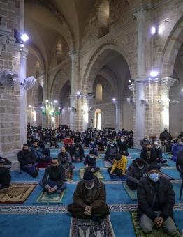 استئناف صلاة الجمعة في غزة