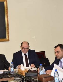 اجتماع لوزارة العدل في نظام الأسد