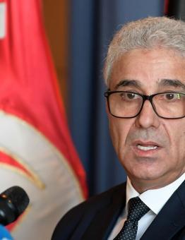 6وزير الداخلية بحكومة الوفاق الليبية المدعومة دولياً فتحي باشاغا