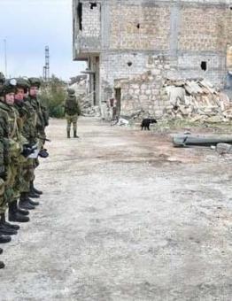 قوات روسية في ريف إدلب