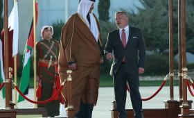 نفذ أمير قطر زيارة إلى الأردن هي الأولى من نوعها منذ مارس/ آذار 2014