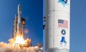 الصاروخ الذي يحمل أقماراً صناعية للاتصالات