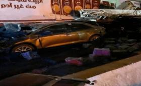 صورة أولية من مكان الحادث