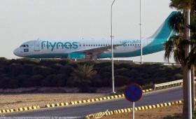 طائرة لشركة طيرات فلايناس السعودي