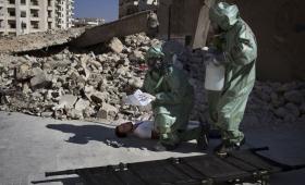نفذ نظام الأسد عدة هجمات كيميائية في اللطامنة بريف حماة الشمالي عام 2017