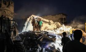 غارات جوية من طائرات الأسد على محافظة إدلب