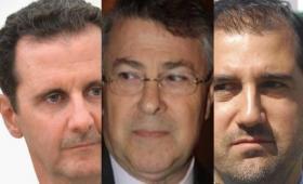 رامي مخلوف - طريف الأخرس - بشار الأسد