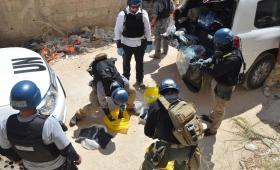 خلال التحقيقات الأممية في الهجوم الكيميائي على الشعب السوري