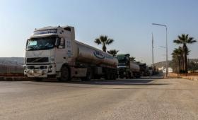 صهاريج مازوت تتبع لشركة وتد في إدلب