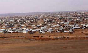 مخيم الركبان على الحدود السورية الأردنية
