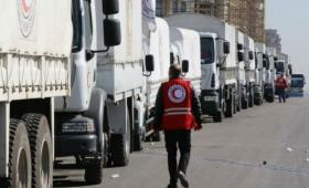 مساعدات إنسانية في سوريا