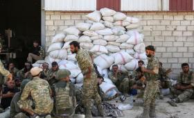 عناصر من الجيش الوطني في سوريا