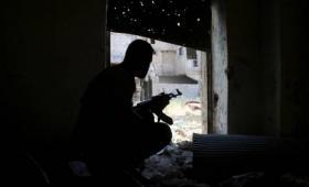 صورة أرشيفية من إحدى جبهات القتال في سوريا