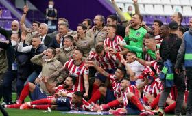 أتلتيكو مدريد يتوج بطلا للدوري الإسباني