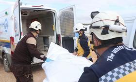 الدفاع المدني في إدلب