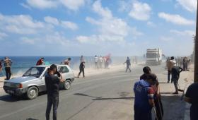 مدينة غزة - حملة تطوعية لإزالة الركام