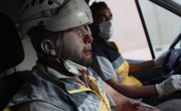 إصابة عناصر من الدفاع المدني بقصف قسد على عفرين