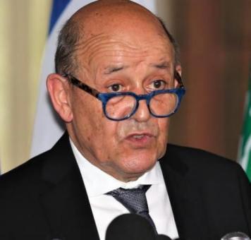 وزير الخارجية الفرنسي لودريان