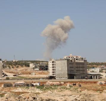 تصاعد قصف الغارات الروسية قي إدلب 20 9 2020
