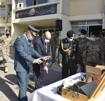 جانب من تزويد تركيا الجيش اللبناني بذخير حية