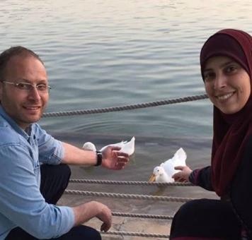 الأسيران المحرران من سجون الاحتلالأحلام ونزار التميمي