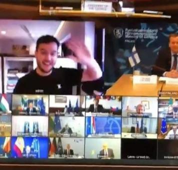 لحظة اختراق الصحفي الهولندي لاجتماع سري في أوروبا