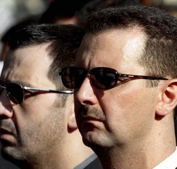 بشار الأسد وماهر الأسد