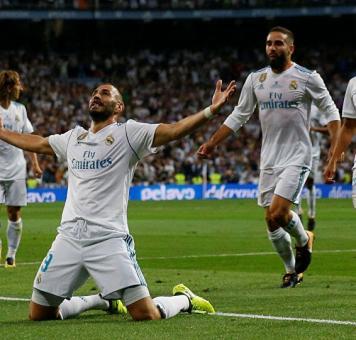 فوز فريق ريال مدريد في إحدى المباريات