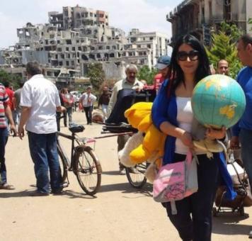 أحياء حمص الموالية
