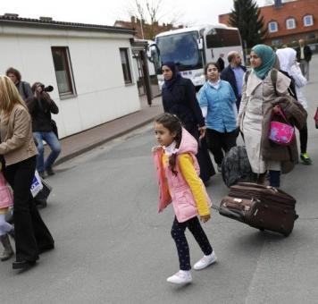لاجئين سورين في ألمانيا