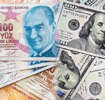 الليرة التركية مقابل الدولار