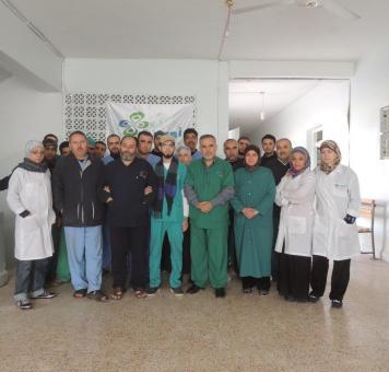 مجموعة أطباء في إدلب