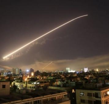 قصف إسرائيلي على سوريا - أرشيف